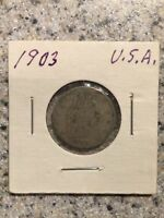 1903 U.S LIBERTY HEAD V NICKEL COIN