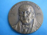 THE PATRIARCH EGREGIOUS 1820 REVOLUTION FERNANDES THOMAZ 1771/ 1971BRONZE MEDAL
