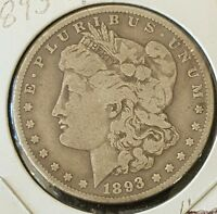 1893 O MORGAN SILVER DOLLAR - LOT: M3