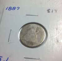 1887 & 1891 SEATED LIBERTY DIMES BIT