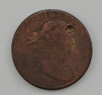 1801 DRAPED BUST LARGE CENT G17
