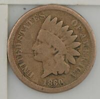 1860 INDIAN HEAD ONE CENT Z46