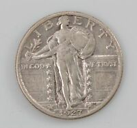 1927 STANDING LIBERTY QUARTER DOLLAR, TYPE 2 G87