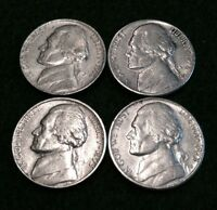 1972 P D  & 1973 P D  JEFFERSON NICKELS CIRCULATED