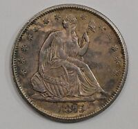 1875 S LIBERTY SEATED HALF DOLLAR G26