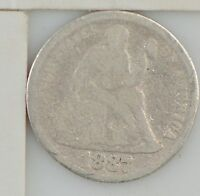 1887 LIBERTY SEATED DIME Z56