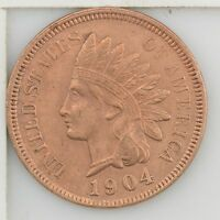 1904 INDIAN HEAD ONE CENT Z36