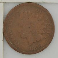 1865 INDIAN HEAD ONE CENT Z14