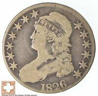1826 CAPPED BUSTED HALF DOLLAR XB54