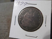 1877 SEATED HALF DOLLAR  GOOD?