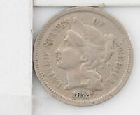 1872 NICKEL THREE CENT PIECE Z11