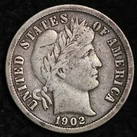 1902 O BARBER DIME CHOICE XF  E326H