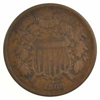 1869 TWO-CENT PIECE J05