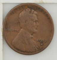 1913-S LINCOLN WHEAT EARS CENT Z26