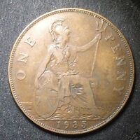 GREAT BRITAIN 1935 PENNY GEORGE V / 2099