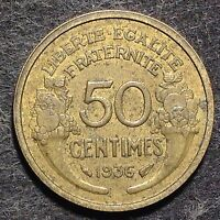 FRANCE 1936 50 CENTIMES / 1716