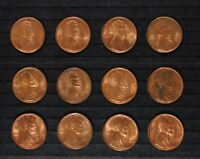 12 BU 1930-S LINCOLN CENTS