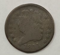 1811 CLASSIC HEAD CLOSE DATE HALF CENT Q68