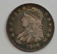 1826 CAPPED BUST HALF DOLLAR G50