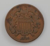 1869 TWO-CENT PIECE Q95