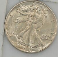 1941 D LIBERTY WALKING HALF DOLLAR Z82