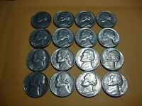 16 DIFFERENT  JEFFERSON NICKELS  1970 D     1979 D