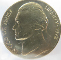 1972 P,D,S JEFFERSON NICKEL BU  3 COINS