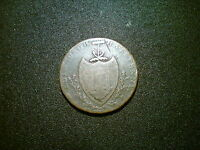 1791 EDINBURGH HALFPENNY CONDER BRITISH TOKEN