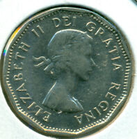 1959 CANADA FIVE CENTS BRILLIANT UNCIRCULATED GREAT PRICE
