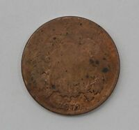 1870 TWO CENT PIECE Q29