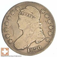1830 CAPPED BUSTED HALF DOLLAR SB20
