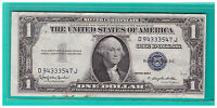 1935H  UNITED STATES $1 SILVER CERTIFICATE NOTE CIRCULATED D180