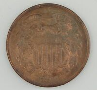 1866 TWO-CENT PIECE Z23
