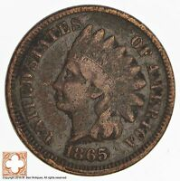 1865 INDIAN HEAD CENT   CIVIL WAR ERA 317