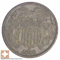 1864 TWO CENT PIECE XB40