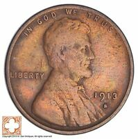1913-S LINCOLN WHEAT CENT 2622