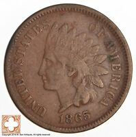 1865 INDIAN HEAD CENT - CIVIL WAR ERA 503