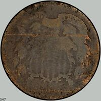 1871 2C SHIELD TWO CENTS