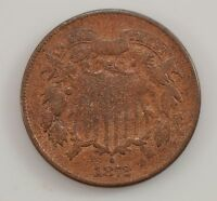 1872 TWO-CENT PIECE G27