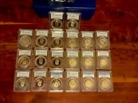 KENNEDY'S 40 DCAM PF69 1976 S THROUGH 2013  S. WITH PCGS BOXES