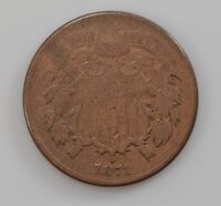 1871 TWO-CENT PIECE Q78