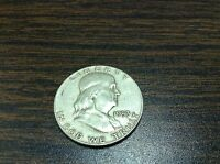 1953 FRANKLIN HALF DOLLAR 90 SILVER