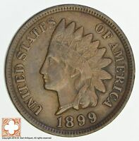 1899 INDIAN HEAD CENT 4637