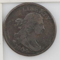 1804 DRAPED BUST HALF CENT Z03