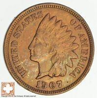 1907 INDIAN HEAD CENT 4687