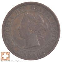 1881 H CANADA ONE CENT QUEEN VICTORIA 6153