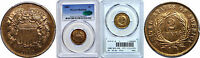 1869 TWO CENT PIECE PCGS PR-65 RB CAC