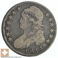 1814 CAPPED BUSTED HALF DOLLAR 0451