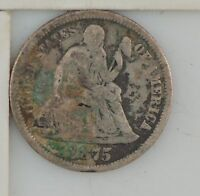 1875 LIBERTY SEATED DIME Z05