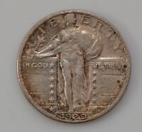 1929 STANDING LIBERTY QUARTER DOLLAR TYPE 2 G15